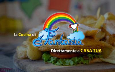 La cucina di èFantasia direttamente a CASA TUA!