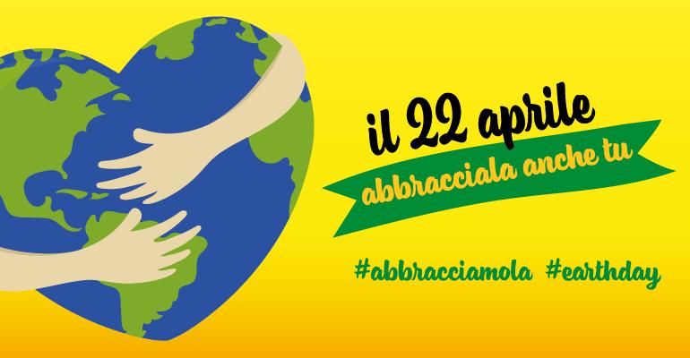Oggi celebriamo la TERRA #EARTHDAY #ABBRACCIAMOLA 22 Aprile